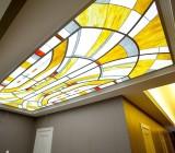 Подвесные потолки стеклянные: особенности конструкции