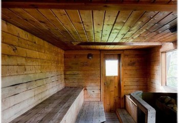 Обрезная доска для потолочной конструкции