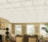 Пенопластовая плитка на потолок – красивый потолок за смешные деньги