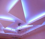 Потолки из гипсокартона в зале — основные разновидности конструкций и их особенности