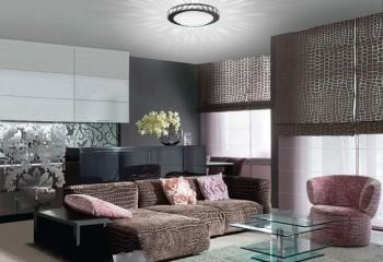Накладной потолочный светильник может обеспечить достаточное освещение в помещении