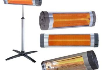 Переносная модель с галогеновым нагревателем