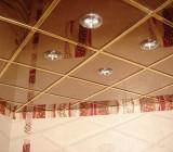 Как сделать кассетный зеркальный потолок своими силами