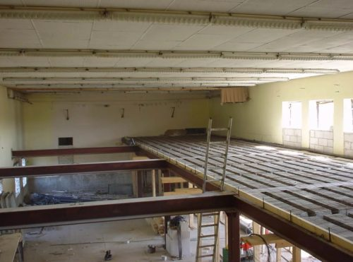 Реконструкция перекрытия в старом производственном цеху