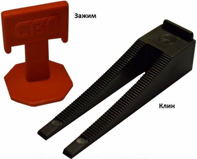 Эти приспособления позволяют выставить плитку ровно в одну плоскость