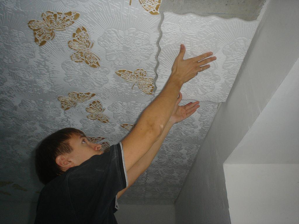 Потолок: как правильно делать