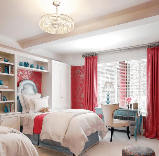 Уютная спальня для юной прелестницы