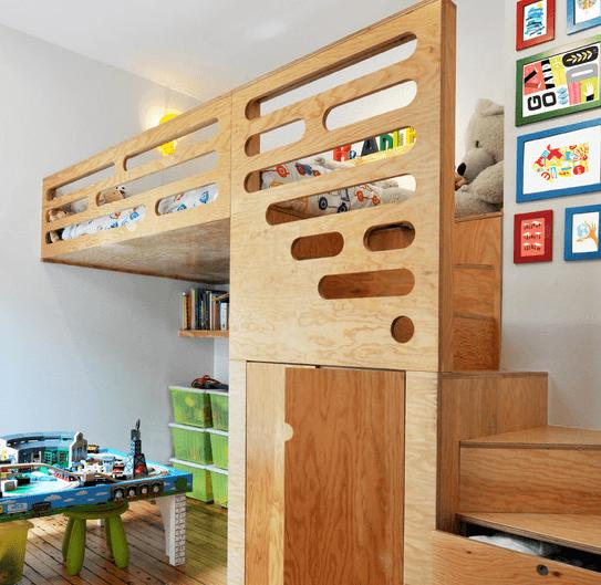 «Все включено»: место для сна, игровая комната, гардероб, хранение игрушек