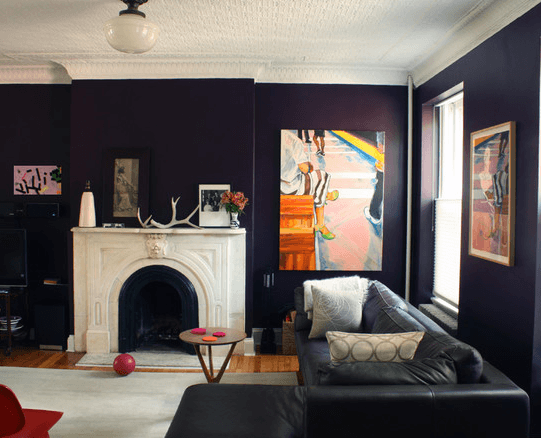 Авангардный декор, арт-деко и классическая кожаная мебель