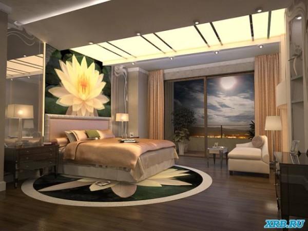 Акриловое стекло в дизайне потолка
