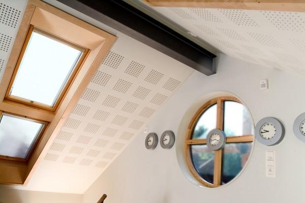 Акустический потолок из гипсокартона
