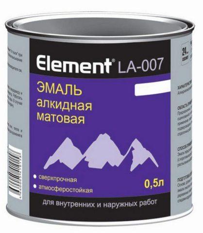 Алкидные эмали изготавливаются на основе лаков