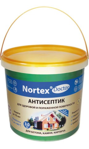 Антисептический состав для бетона
