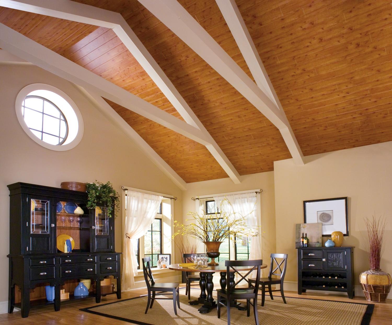 Потолок в деревянном доме картинки