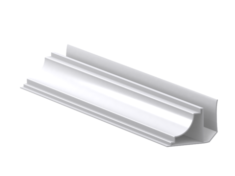 Чаще всего, это варианты под пластиковый либо натяжной потолок, но существуют и декоративные модели, сажающиеся на клей, с готовой покраской