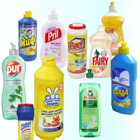 Чем можно помыть натяжной потолок: средство для мытья посуды