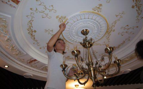 Декор лепного потолка
