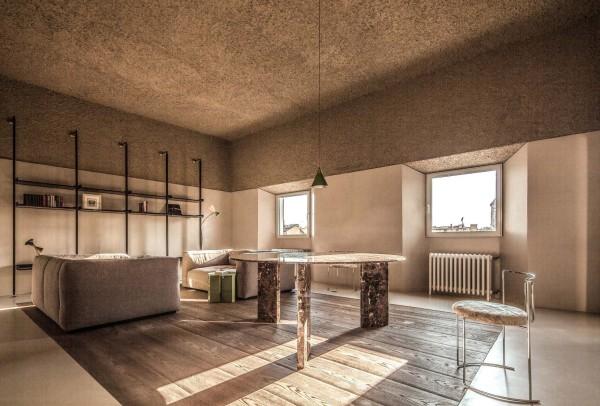 Декоративное оштукатуривание потолка