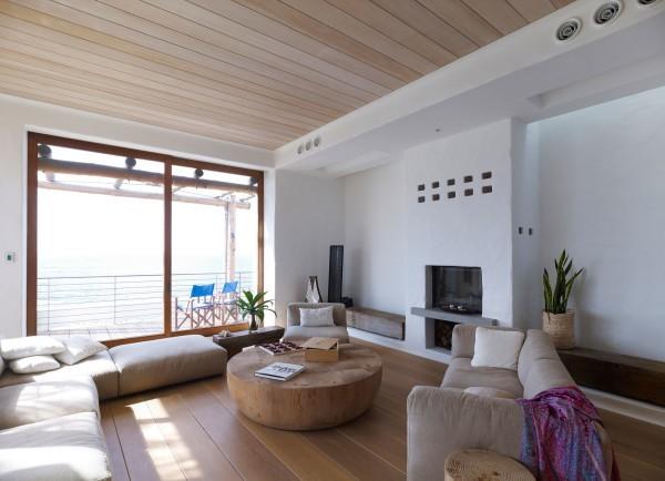 Деревянный подшивной потолок