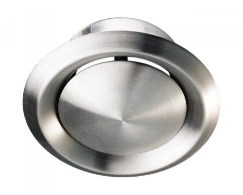 Диффузоры круглые потолочные из нержавеющей стали