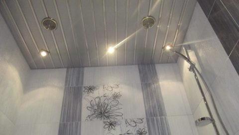 Диффузоры на реечном подвесном потолке