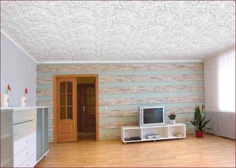 Дизайн бесшовного потолка