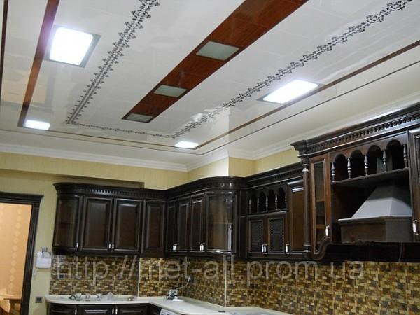 Дизайнерский алюминиевый потолок