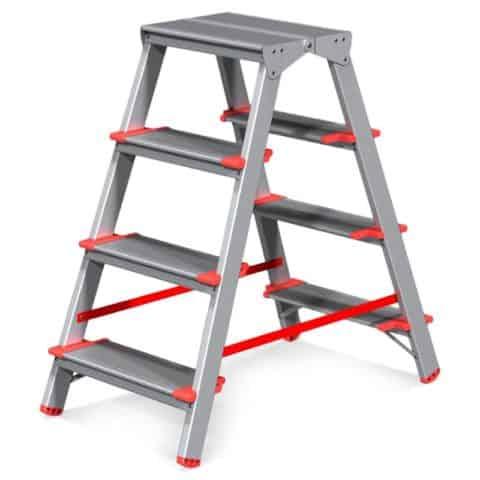 Для работы на высоте нужна крепкая, удобная, мобильная опора