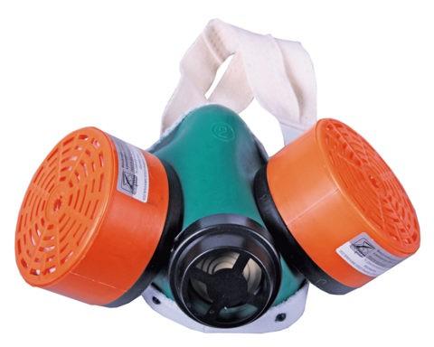 Для защиты органов дыхания от пыли используйте респиратор
