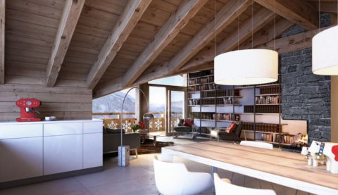 Дом без чердака: потолок, подшитый доской