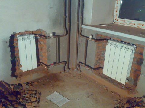 Дополнительный радиатор исключит промерзание