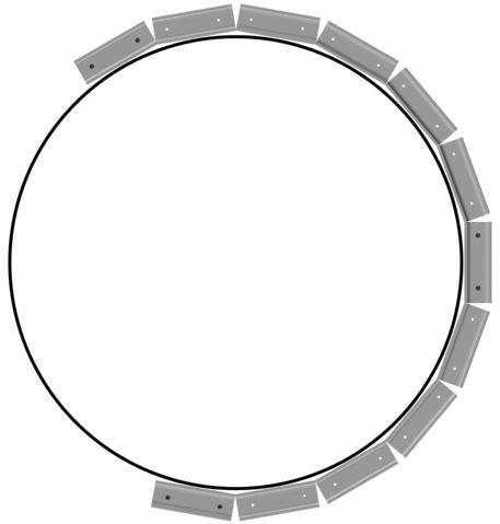 Двухуровневые потолки из гипсокартона: монтаж ПНП профиля по окружности