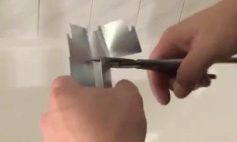 Элементы конструкции режутся легко