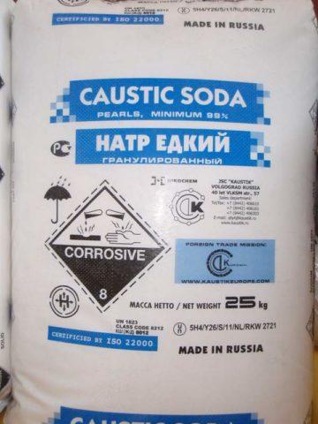 Еще более опасное вещество для кожи и слизистых