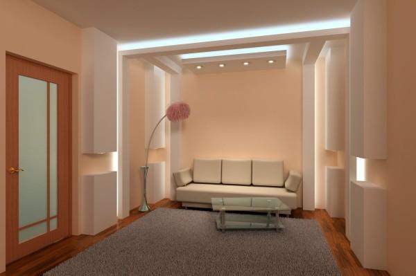 Эстетику интерьера с неоновой подсветкой трудно переоценить