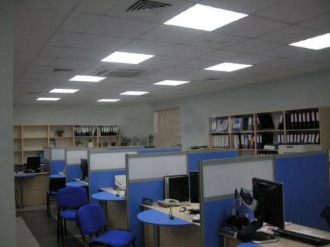 Эти лампы давно стали нормой для общественных зданий и офисов