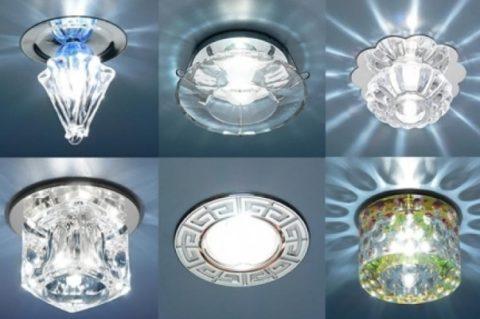 Этот тип изделий чаще всего используется в точечных источниках света