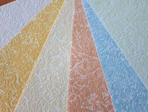 Фактура флизелиновых тонированных полотен под покраску
