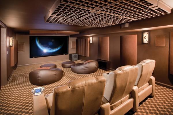 Шоколадный домашний кинотеатр