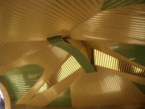 Геометрически сложный потолок