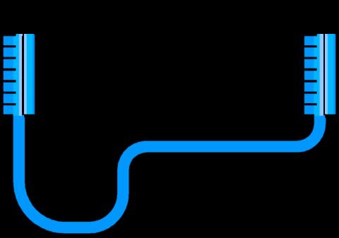 Гидроуровень работает по принципу сообщающихся сосудов