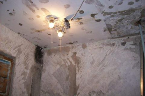Гипсокартон скроет любые дефекты потолка