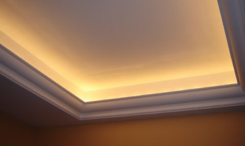 Гипсокартонная конструкция с подсветкой