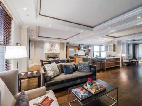 Гипсокартонные конструкции для зонирования квартиры-студии