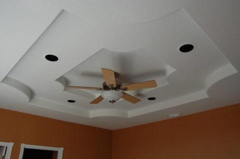 Гипсокартонный подвесной потолок