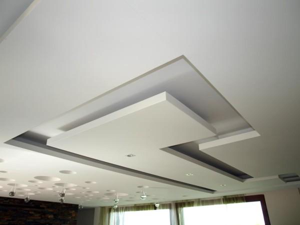 Гипсокартонный потолок с перфорацией