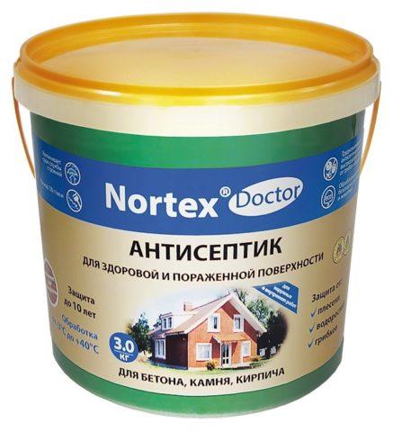 Грунт-антисептик для минеральных оснований