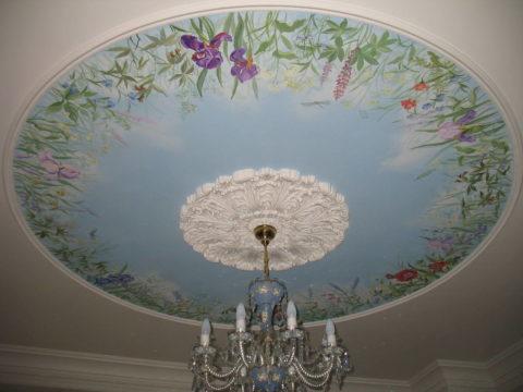 Художественная роспись акриловой краской