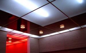 кассетный потолок монтаж