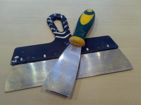 Инструменты для заделки швов и крепежа